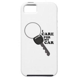 Cuidado para meu carro capa iPhone 5