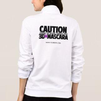 Cuidado - provavelmente para vangloriar-se sobre jaqueta