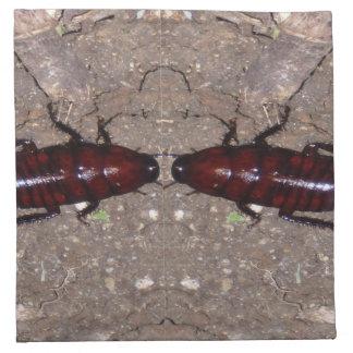 Culinária selvagem da guloseima - ciência insetos guardanapos