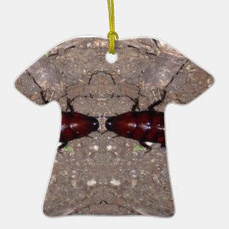Culinária selvagem da guloseima - ciência, insetos ornamento de cerâmica camiseta