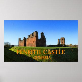 cumbria do castelo do penrith posteres