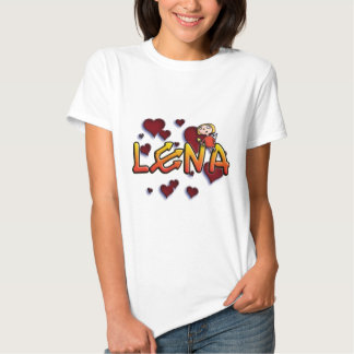 Cume name Lena for alpargatas and other products Tshirt