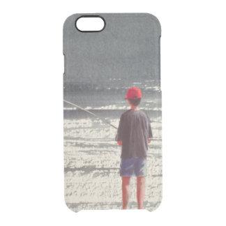 Cumes 1990 da pesca de Henry Capa Para iPhone 6/6S Transparente