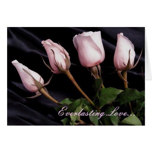 Cumprimento eterno do amor… -, foto cartões