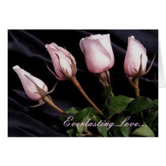 Cumprimento eterno do amor… -, foto cartão comemorativo