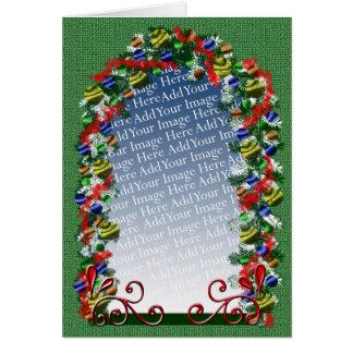 Cumprimento feito sob encomenda do Natal Cartões