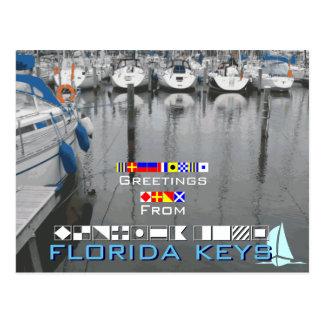 Cumprimentos das chaves de Florida Cartão Postal