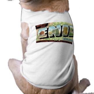 Cumprimentos de Enid, Oklahoma! Camisa Sem Mangas Para Cachorro