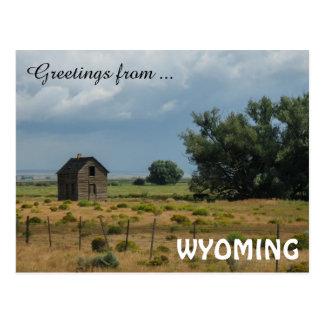 Cumprimentos de Wyoming Cartão Postal