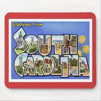 Cumprimentos do SC de South Carolina Mouse Pad