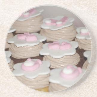 cupcakes do bebé porta copos de arenito