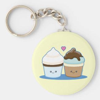 Cupcakes do casamento chaveiro
