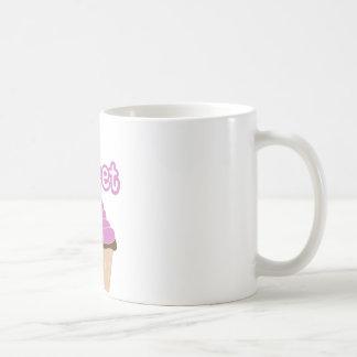 Cupcakes doces caneca de café