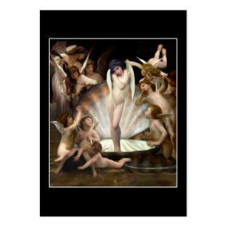 Cupido da bordadura dos anjos de Bouguereau Modelo Cartoes De Visitas