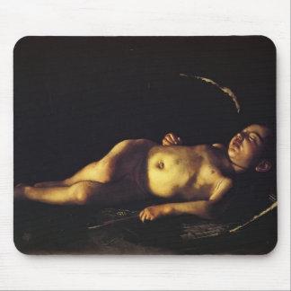 Cupido do sono de Caravaggio- Mousepad