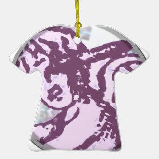 Cupido redondo ornamento de cerâmica camiseta
