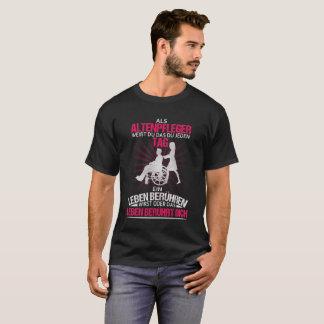 Curador de velhinha camiseta