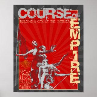 Curso edição do poster do império da ?a