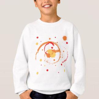 Cursos coloridos da escova t-shirts