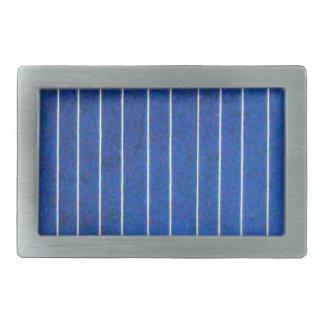 Curvatura azul e branca do painel da célula solar