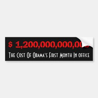 Custo de Obama Adesivo Para Carro