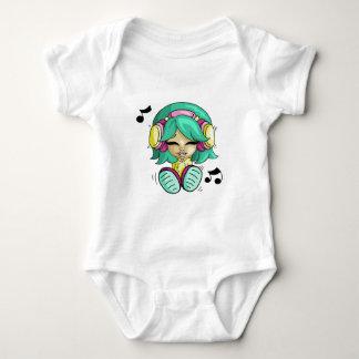 Cutie da música tshirt
