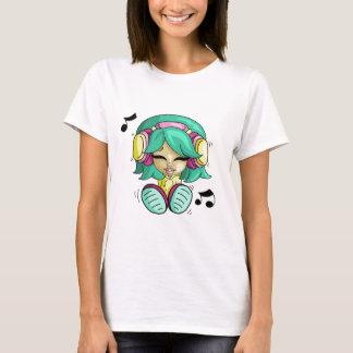 Cutie da música tshirts