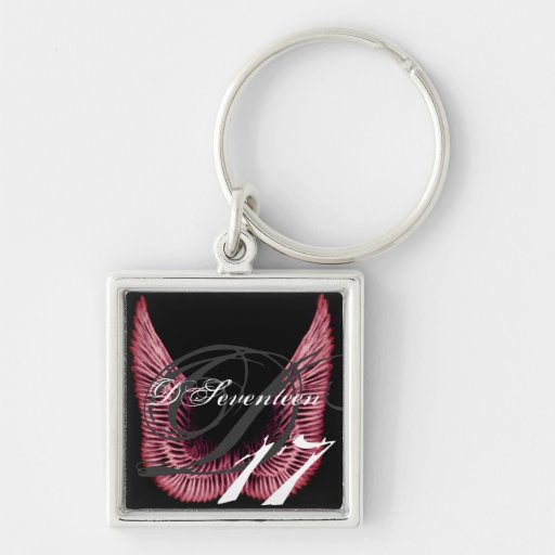 D17 Wings Porta Chave Chaveiros