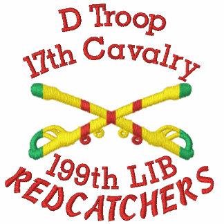 D agrupa-se 17o Cav. 199th Camisa cruzada LIBERAL