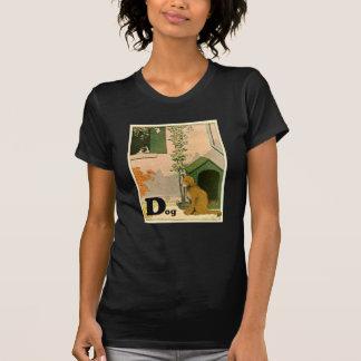 D é para o cão - golden retriever e Terrier Tshirt