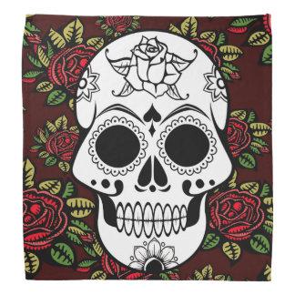 Da arte retro das rosas vermelhas do Bandanna Bandanas