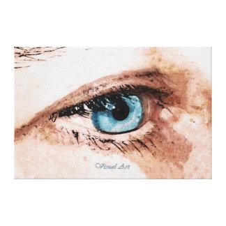 """Da """"~ arte visual a arte de ver"""" canvas de belas impressão em tela"""