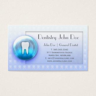 Da bolha branca dos dentes de Dentalcare cartão de Cartão De Visita