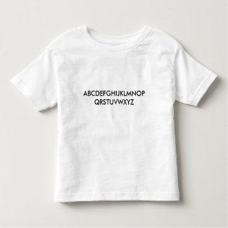 """Da """"camisa ABC da criança T criança """" Tshirt"""
