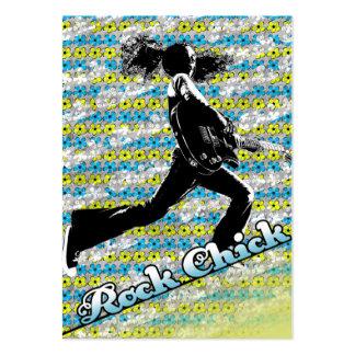 """Da """"cartão carnudo do pintinho rocha"""" cartão de visita grande"""