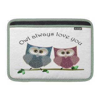 Da coruja amor bonito, caso bonito sempre do iMac Bolsa De MacBook