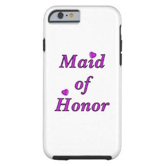 Da madrinha de casamento amor simplesmente capa tough para iPhone 6