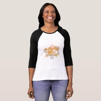 """Da """"O t-shirt das mulheres da especiaria abóbora"""