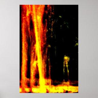 """Da """"poster da arte de JTG do homem lava"""" Poster"""
