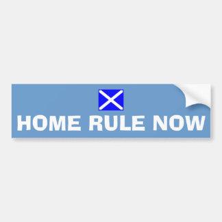 Da regra etiqueta escocesa Home da bandeira da Adesivos