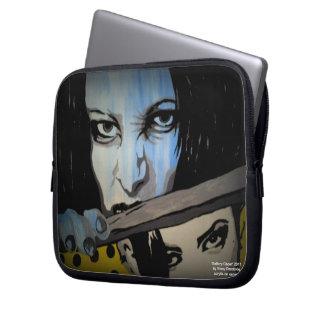 "Da ""saco dos eletrônicos do Laptop/do fantasma Capa De Notebook"