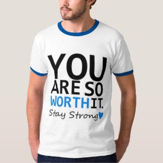 """Da """"TSHIRT da campainha"""" dos homens fortes estada Camiseta"""