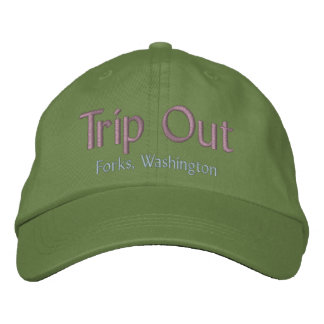 Da viagem forquilhas para fora chapéu de Washingt