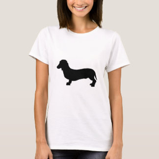 Dachshund do cão camiseta