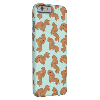 Dachshunds! Capa Barely There Para iPhone 6