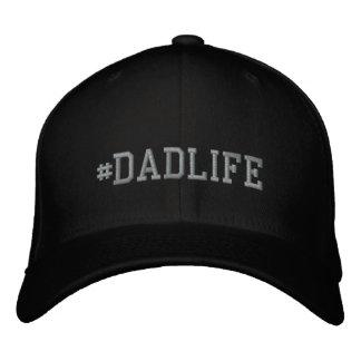 DadLife bordou o boné básico de lãs de Flexfit