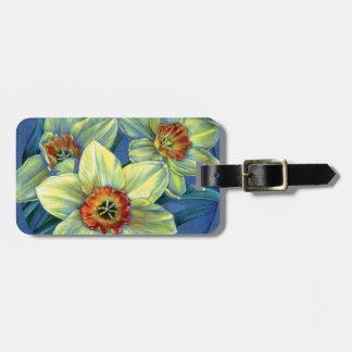 Daffodils do ` - as alegrias Tag da bagagem do Tags De Mala