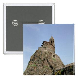 d'Aiguilhe do Saint Michel (foto) Bóton Quadrado 5.08cm
