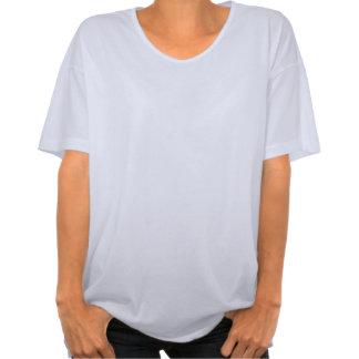 Damasco azul é uma mãe personalizada nome do camisetas