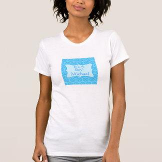 Damasco azul é uma mãe personalizada nome do tshirts